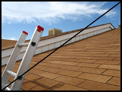 Roofing Contractor Signature Roofing does not lean ladders for estimates